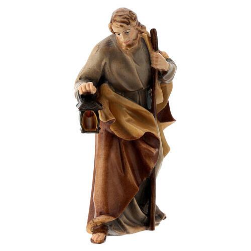 Natività presepe Raffaello dipinto 12 cm Val Gardena 3