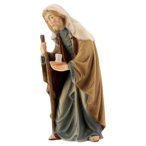 San Giuseppe presepe Matteo Val Gardena 12 cm 2