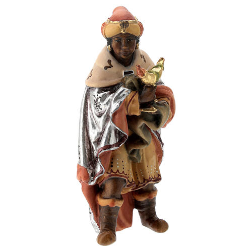 Re Magi presepe Matteo Val Gardena 12 cm legno 2