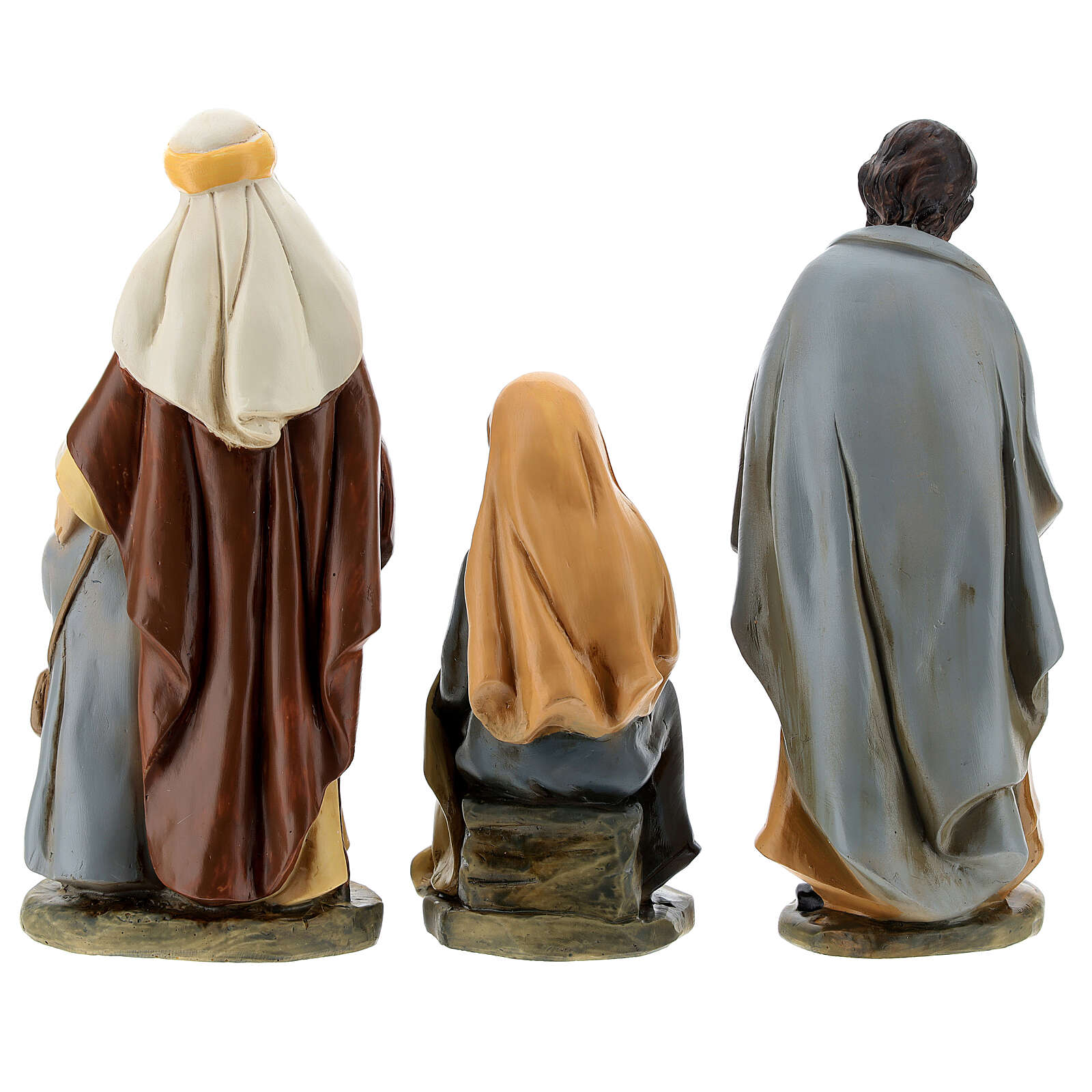 Statue in resina personaggi presepe 15 cm 4