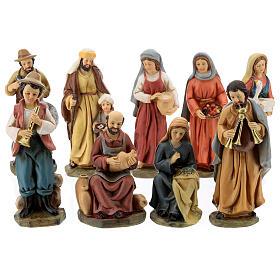 Statue in resina personaggi presepe 15 cm s1