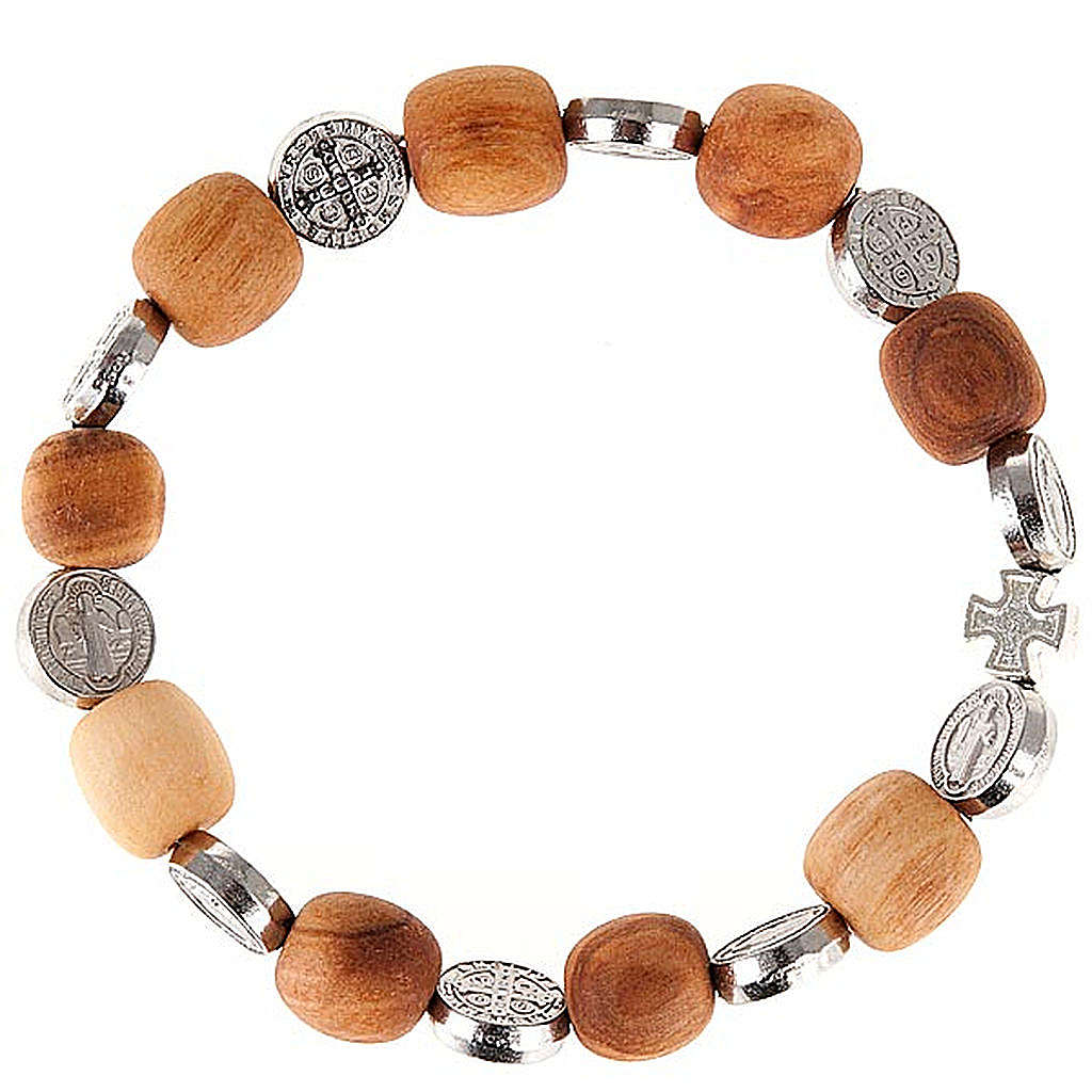 Bracelet médaille Saint Benoit 4