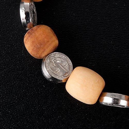 Bracelet médaille Saint Benoit 2