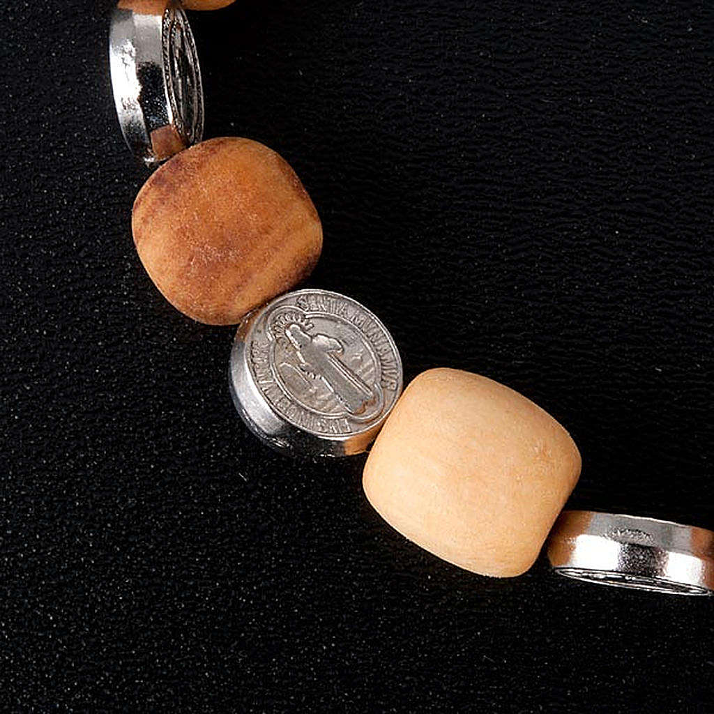 Bransoletka medalik Świętego Benedykta 4