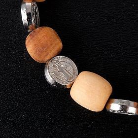 Bransoletka medalik Świętego Benedykta s2