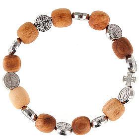 St Benedict medal bracelet s1