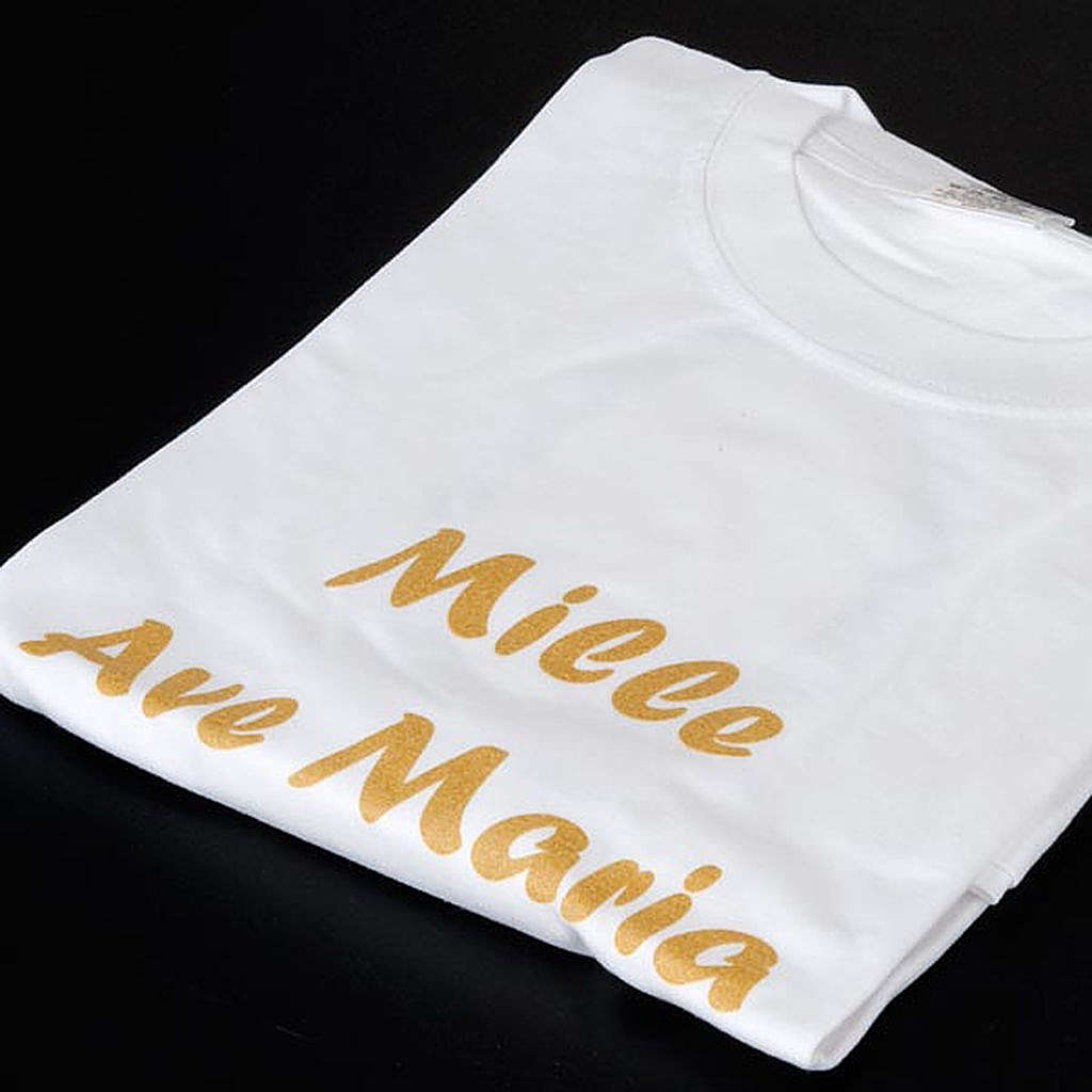 Maglietta Mille Ave Maria Progetto Eleonora 4
