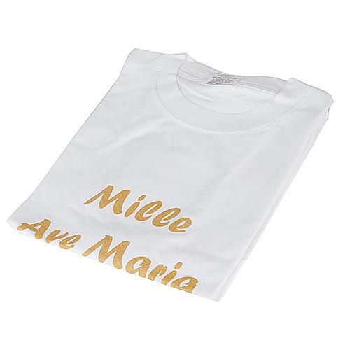 Maglietta Mille Ave Maria Progetto Eleonora 1