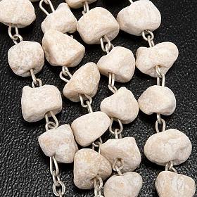 Rosario pietra bianca Madonna Medjugorje s2