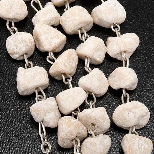 Rosario pietra bianca Madonna Medjugorje 2