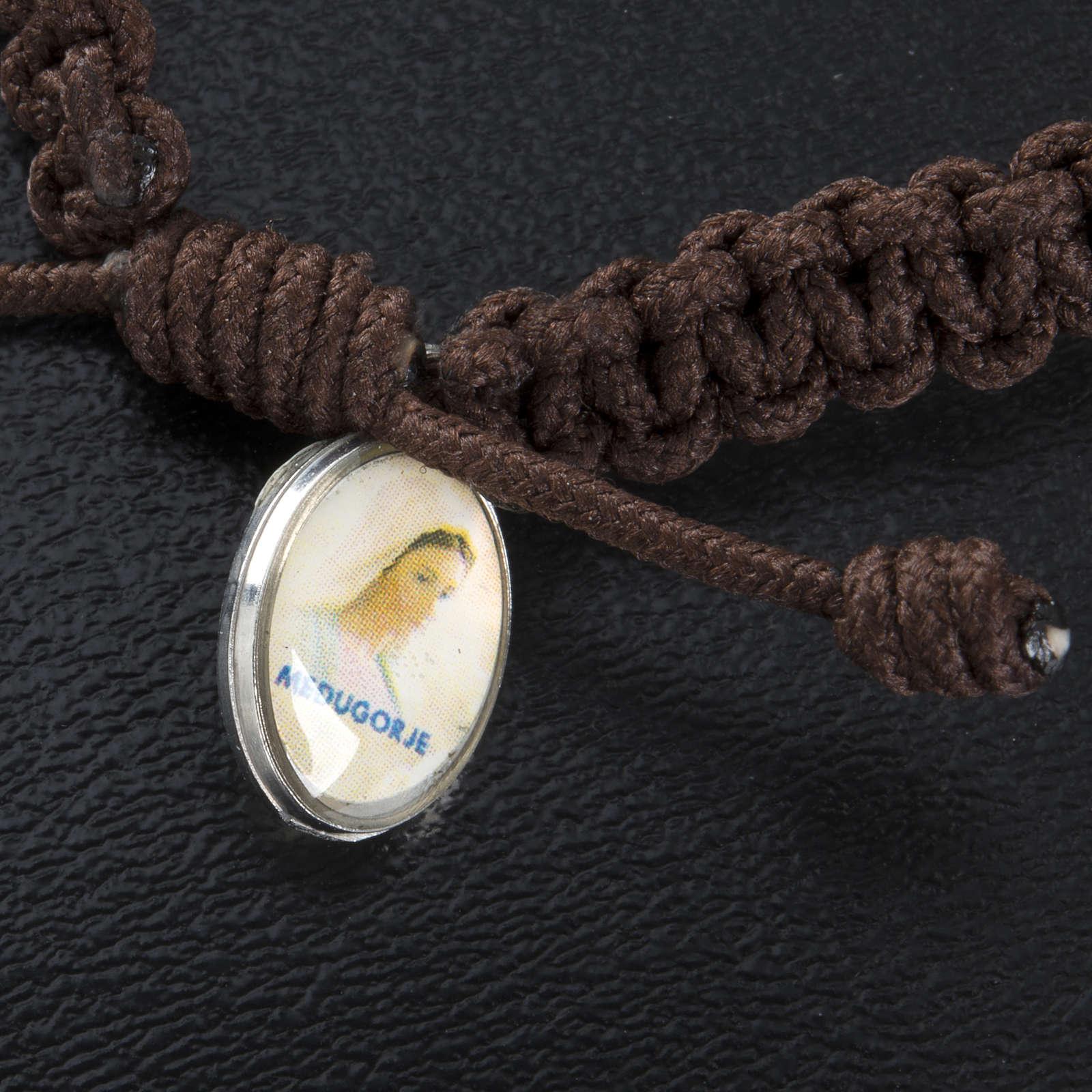 Armband Medjugorje Kreuzen und Benediktus Medaillen 4