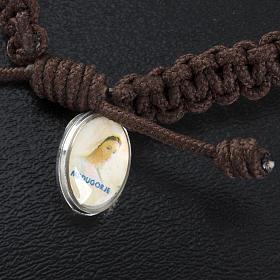 Bracelet dizainier croix et médailles St Benoit s3