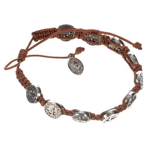 Armband Medjugorje Benediktus Medaillen 9