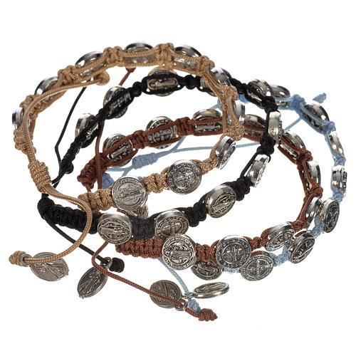 Armband Medjugorje Benediktus Medaillen