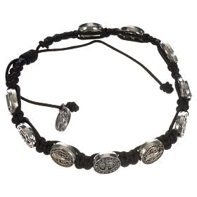 Single-decade Saint Benedict bracelet s10