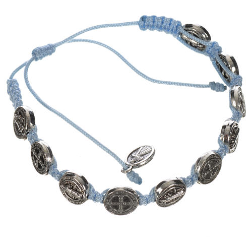 Single-decade Saint Benedict bracelet 7