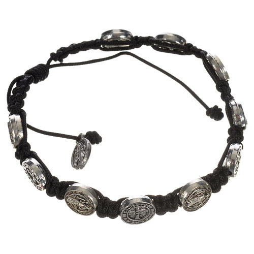 Single-decade Saint Benedict bracelet 5