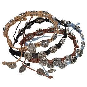 Bracelets, peace chaplets, one-decade rosaries: Single-decade Saint Benedict bracelet