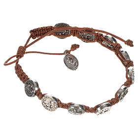 Single-decade Saint Benedict bracelet s4