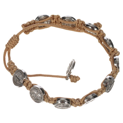 Single-decade Saint Benedict bracelet 8