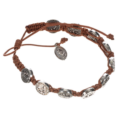 Single-decade Saint Benedict bracelet 9