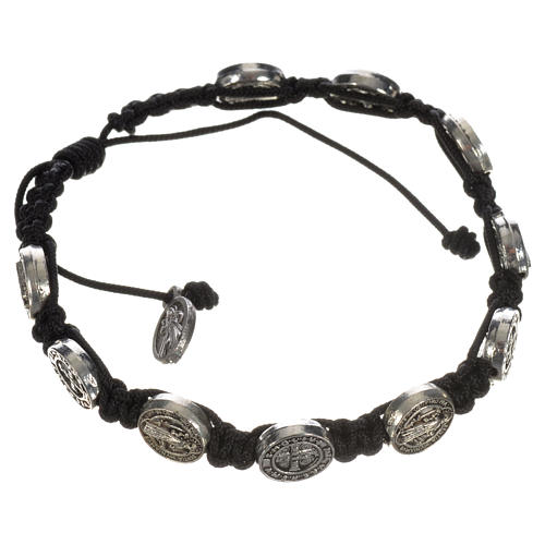 Single-decade Saint Benedict bracelet 10