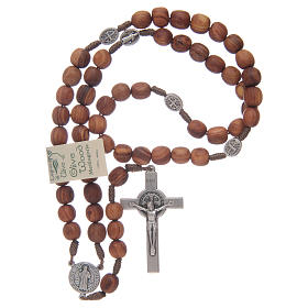 Medjugorje rosary beads with metal crucifix 7mm s4