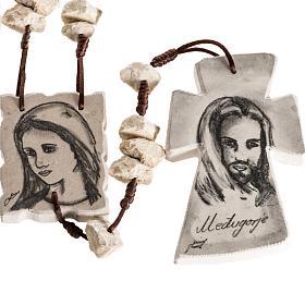Rosario de pared Maria y Jesús s1