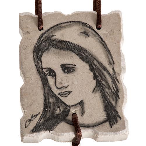 Rosario de pared Maria y Jesús 2