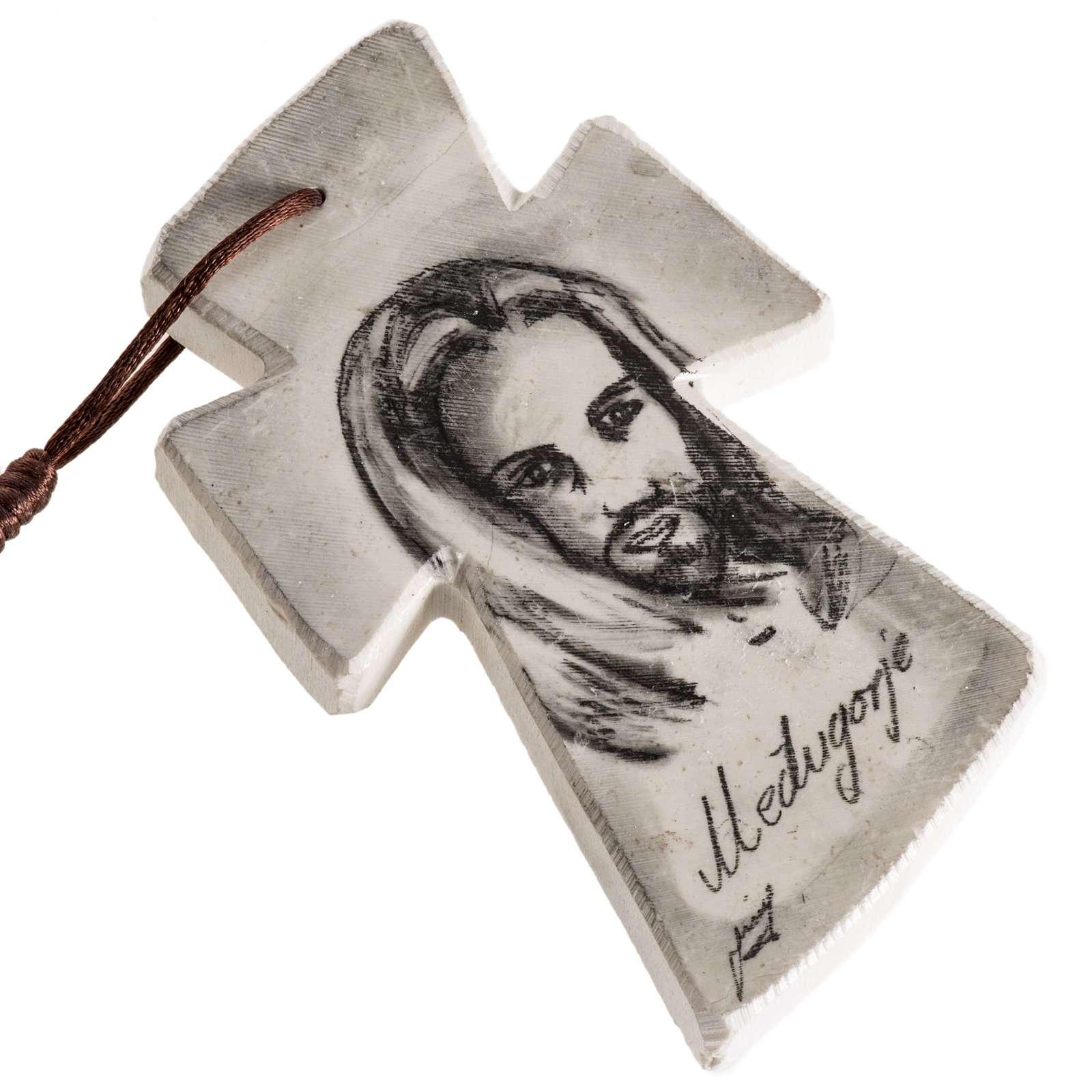 Terço de parede Maria e Jesus 4
