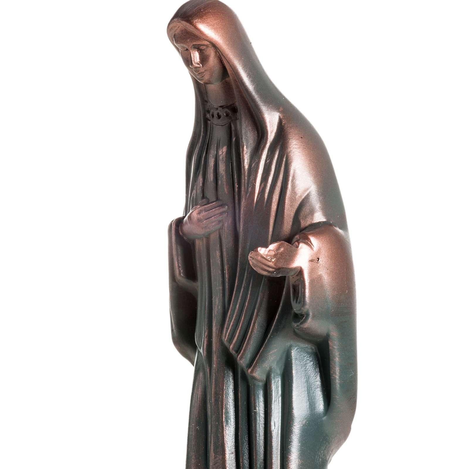 Statua Maria Regina della Pace 20 cm 4