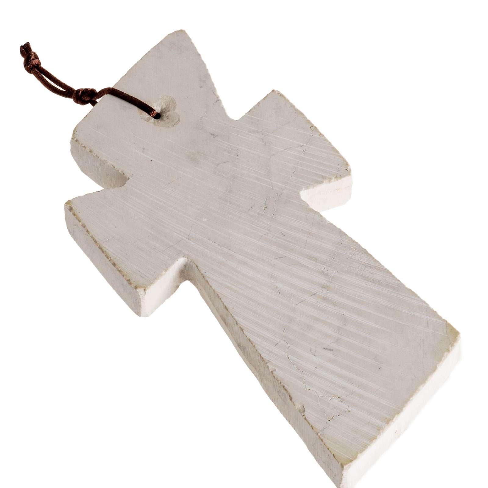Croce pietra con volto Maria 4
