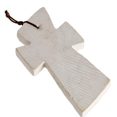 Croce pietra con volto Maria 3