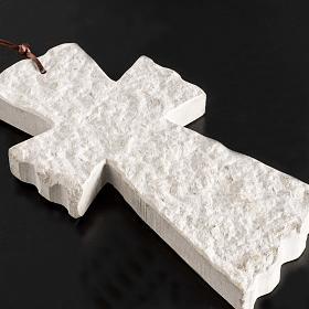 Croix pierre visage Vierge Marie et église Medjugorje s4