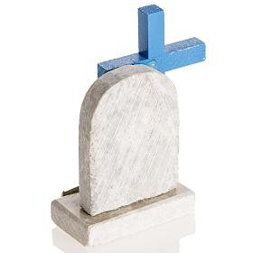 Blue cross with image of Mary s5