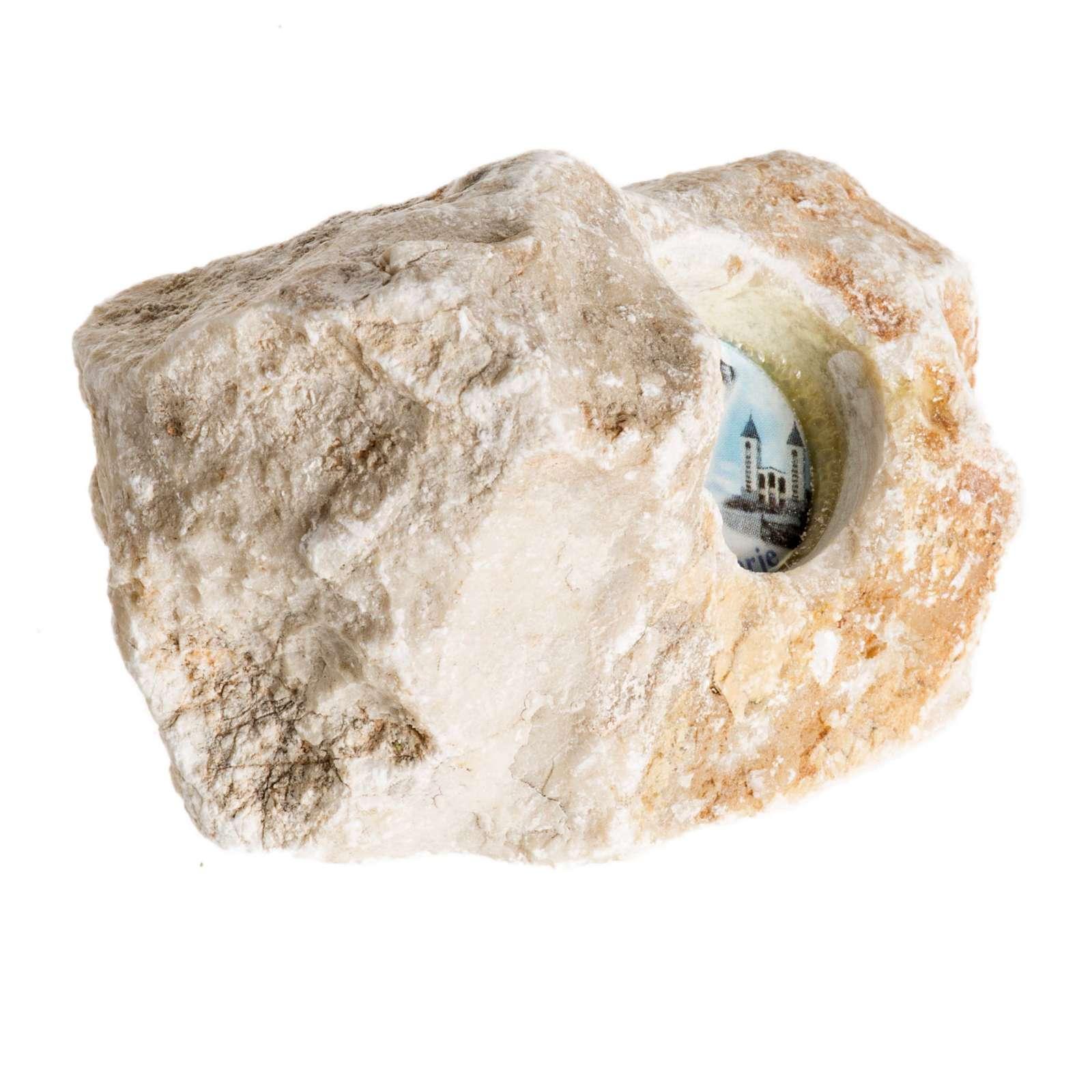 Stein mit Gottesmutter von Medjugorje 4
