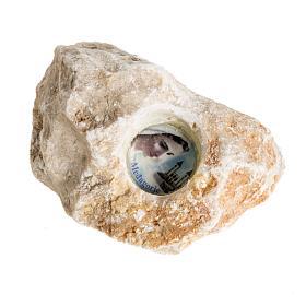 Stein mit Gottesmutter von Medjugorje s1