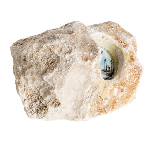 Stein mit Gottesmutter von Medjugorje 2