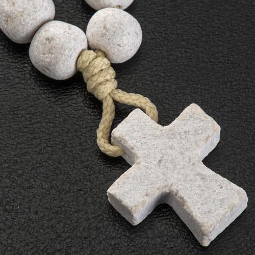 Llavero decena Medjugorje piedra 3
