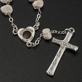 Chaplet in stone with Medjugorje soil s4