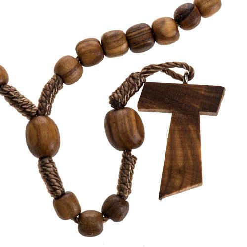 Mini rosario olivo Medjugorje tau 1