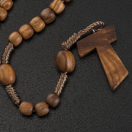 Mini rosario olivo Medjugorje tau 3