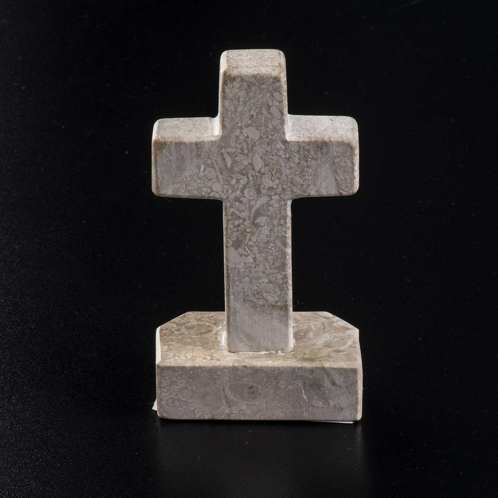 Croix Medjugorje marbre 11x6 4