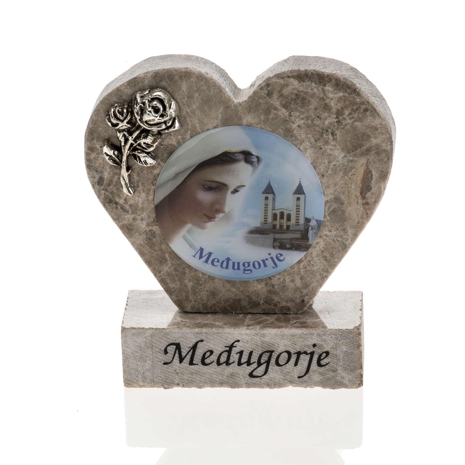Corazón mármol de Medjugorje 4