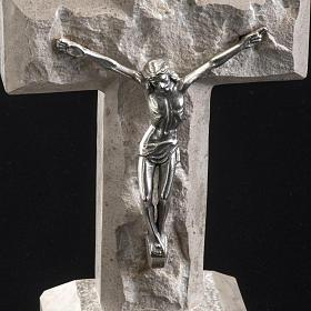 Croce Medjugorje marmo 19x10,5 s3