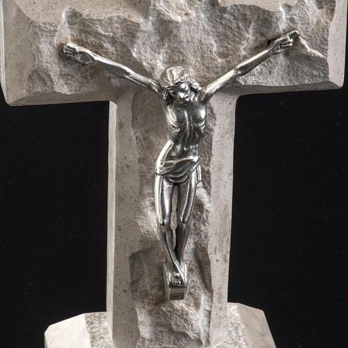 Croce Medjugorje marmo 19x10,5 3