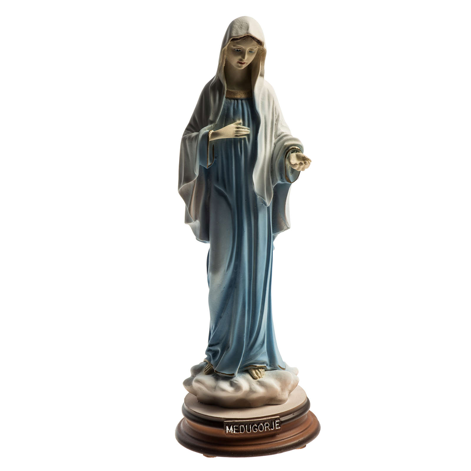 Regina Pacis statue made of resin, Medjugorje 21cm 4