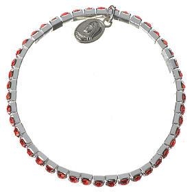 Bracelets, dizainiers: Bracelet élastique strass Medjugorje