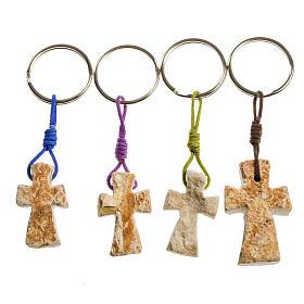 Porta chiavi pietra rossa Medjugorje s1