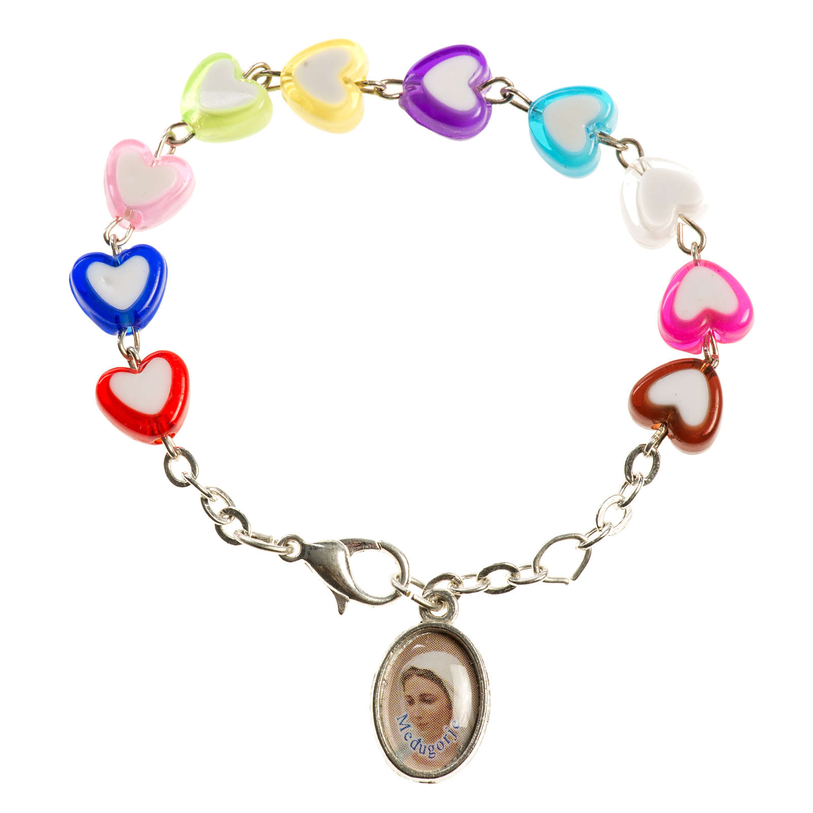 Bracelet for children with hearts, Medjugorje 4